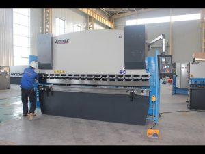 125T plaatbuigmasjien 6mm, hidrouliese persrem WC67Y-125T 3200 vir China
