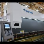 4 As CNC drukremmasjien 175 ton x 4000 mm CNC gemotoriseerde kroning