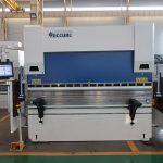China gemaak hidrouliese CNC druk rem vlekvrye staal plaat metaal buig masjien