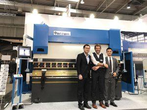 Accurl het in 2017 aan die Hannover International Machine Tool-uitstalling in Duitsland deelgeneem