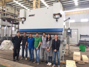Brasilië kliënte besoek fabrieke en koop druk remme