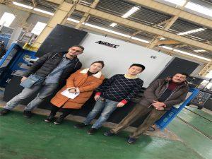 Egipte Customers koop Press Brake Machine van Accurl Companies