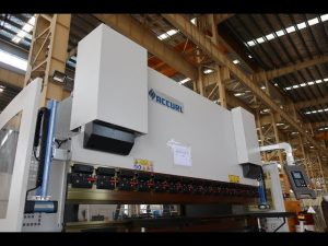 Hidrouliese NK drukrem / plaatmetaal buig masjien MB7-125Tx3200