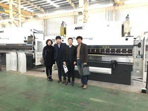 Koreaanse kliënte besoek ons fabriek