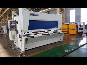 Master Variable Rake Guillotine Shearing Machine Met ELGO P40T CNC System