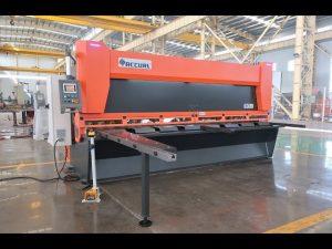 Meester veranderlike rake met CNC hidrouliese guillotine skêr MS8-10x4000mm