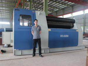 Thailand Customers koop W12 Rolling Machine van Accurl Company