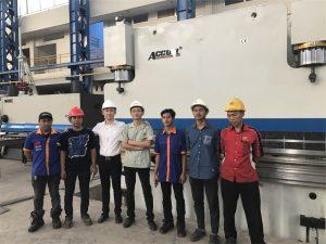Die Delegasie van Indonesië het gekom om ons fabriek te besoek