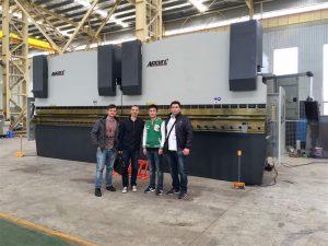 Vietnam Customers Besoek ons fabriek