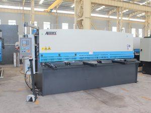 CE hidrouliese guillotine, CNC hidrouliese plaatmetaal skeer masjien van die fabriek warm verkoop