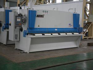 QC11Y CNC hidrouliese skeer masjien, staal CNC skeer masjien, metaal blad skeer masjien