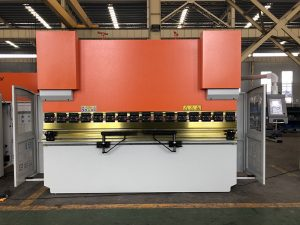 Wc67K-160t 3200mm hidrouliese CNC drukrem, drukrem te koop, klein persrem met da41