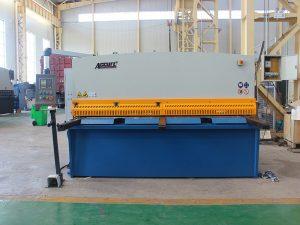 staal plaat hidrouliese skeer masjien te koop