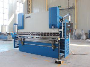Wc67K 100t siemens motor servo buig masjien plaat metaal CNC hidrouliese pers rem met Da41 kontroleerder